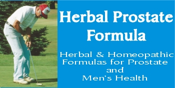 Herbal prostate supplement and super prostate formula with prostate herbs and prostate vitamins for prostate cure.