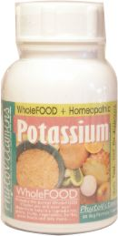 Whole Food all Natural Potassium Supplement