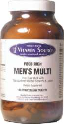 Vitamin Source Man's Multivitamin